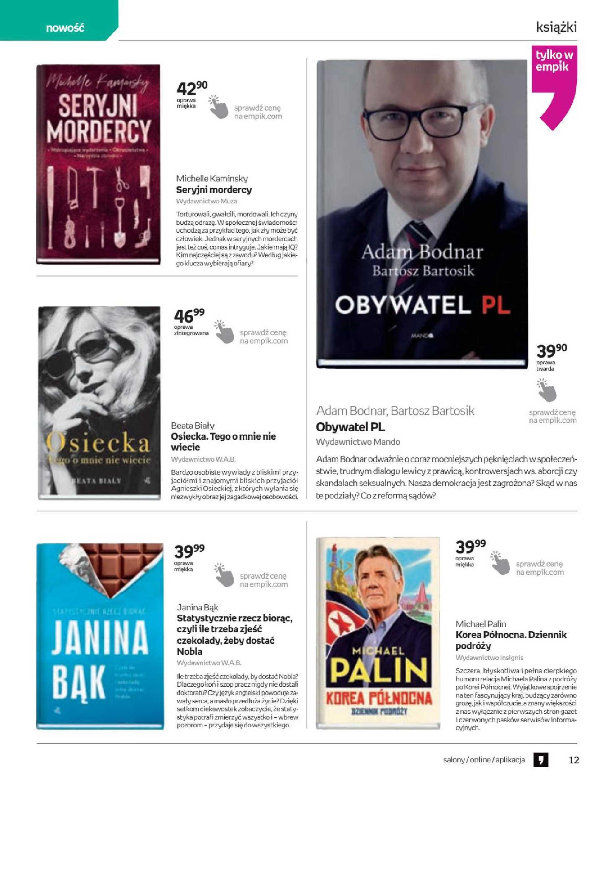 Empik - gazetka promocyjna ważna od 06.05.2020 do 19.05.2020 - strona 4.