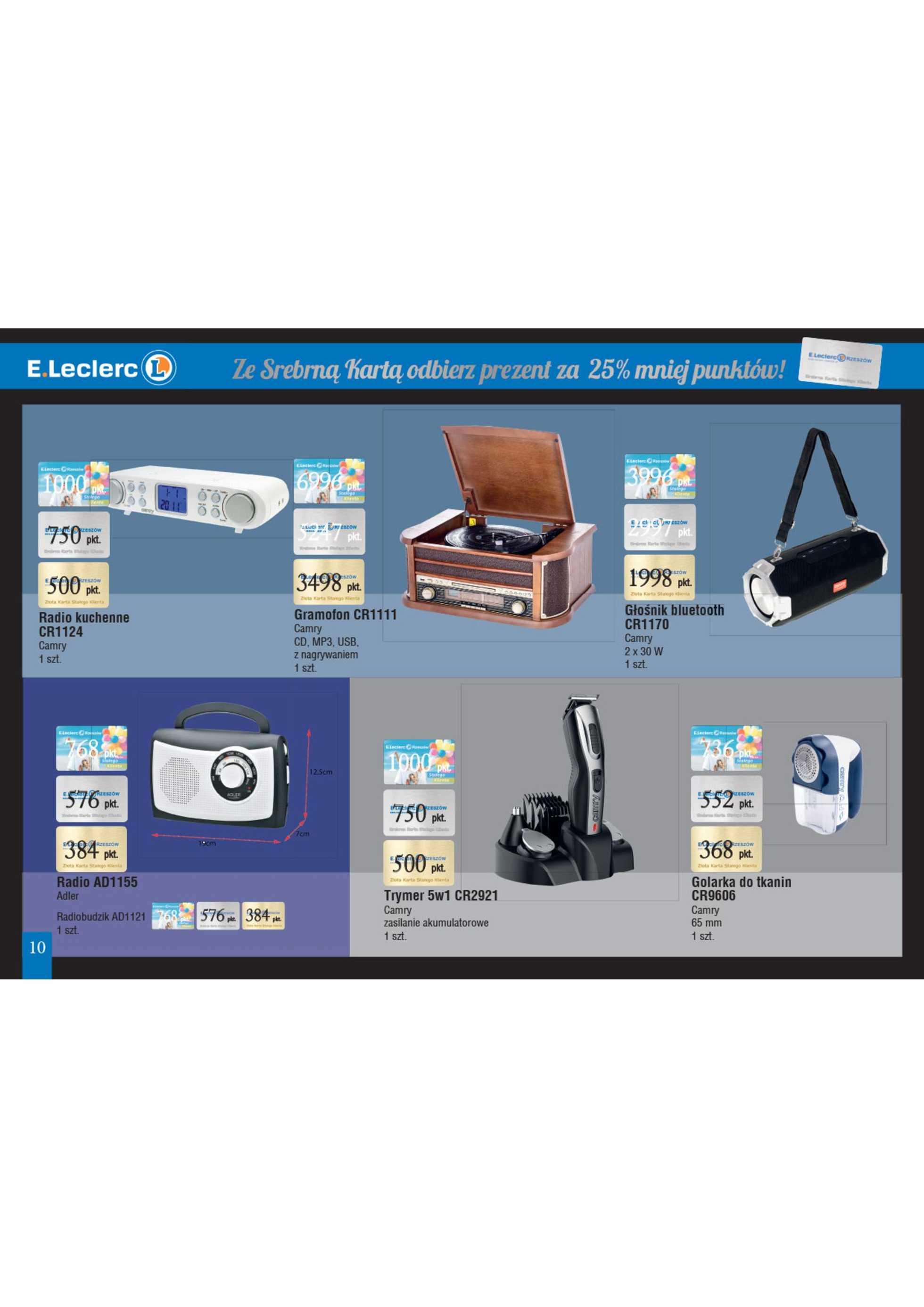 E.Leclerc - gazetka promocyjna ważna od 15.05.2020 do 31.12.2020 - strona 2. W promocji m.in. grill, grill, karta, garnek, karta, garnek
