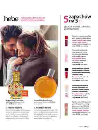 Hebe - gazetka promocyjna ważna od 01.11.2019 do 30.11.2019 - strona 31.