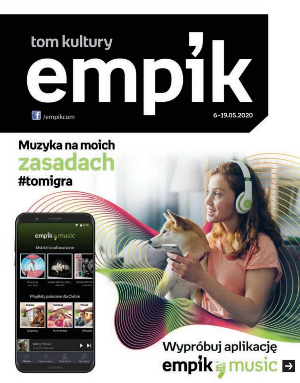Empik - gazetka promocyjna ważna od 05.05.2020 do 05.05.2020 - strona 1.