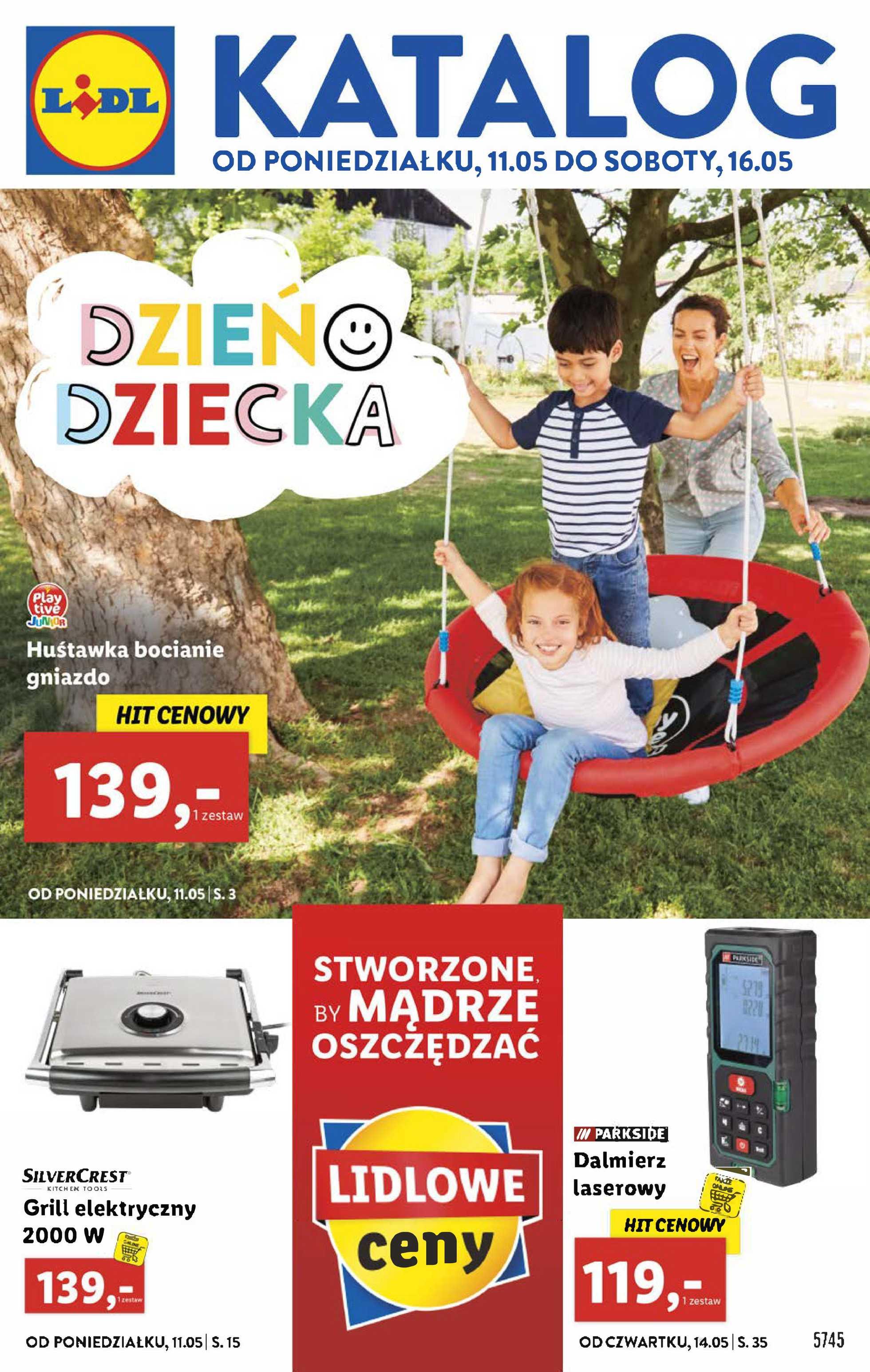 Lidl - gazetka promocyjna ważna od 11.05.2020 do 16.05.2020 - strona 1.