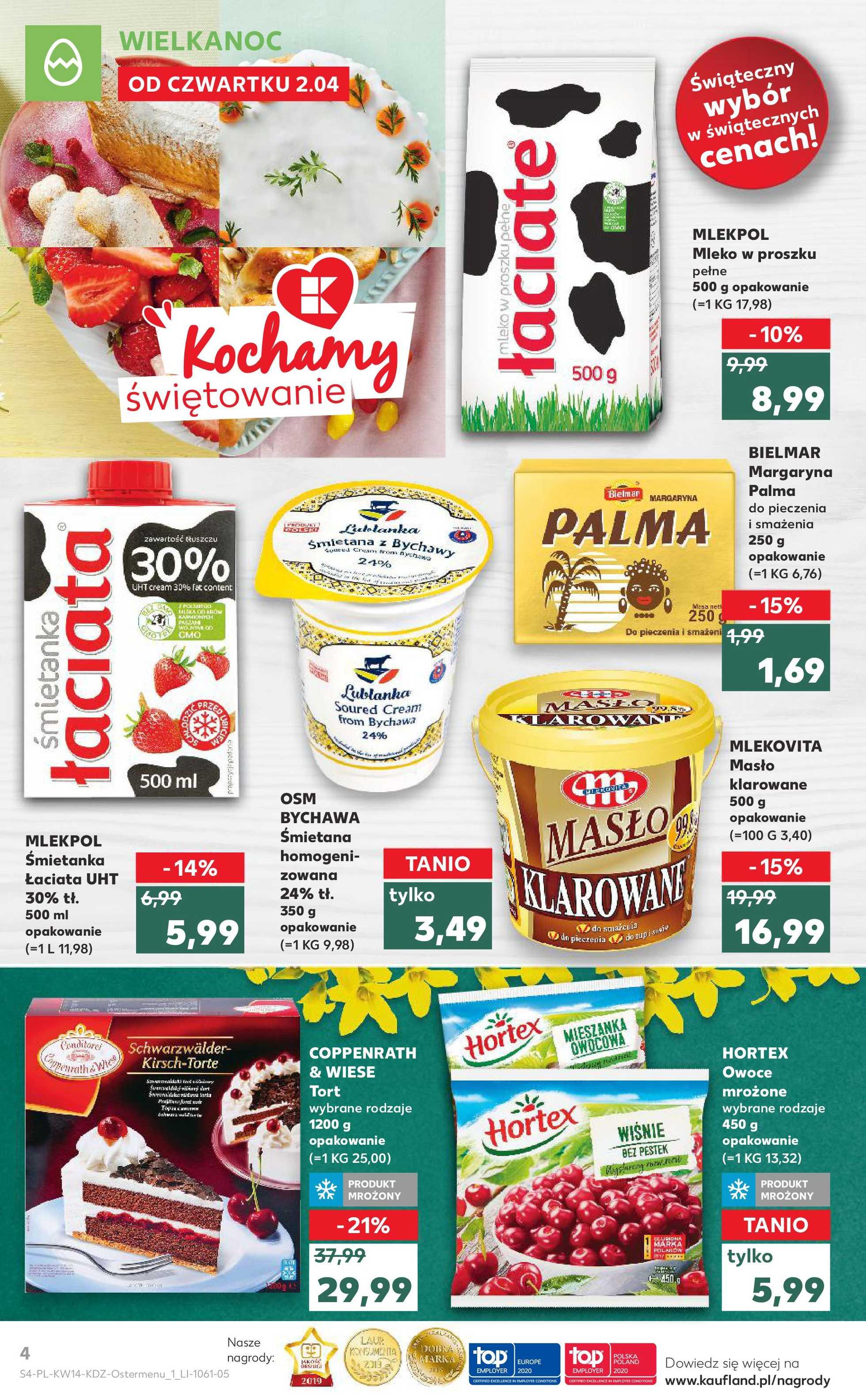 Kaufland - gazetka promocyjna ważna od 02.04.2020 do 07.04.2020 - strona 4.