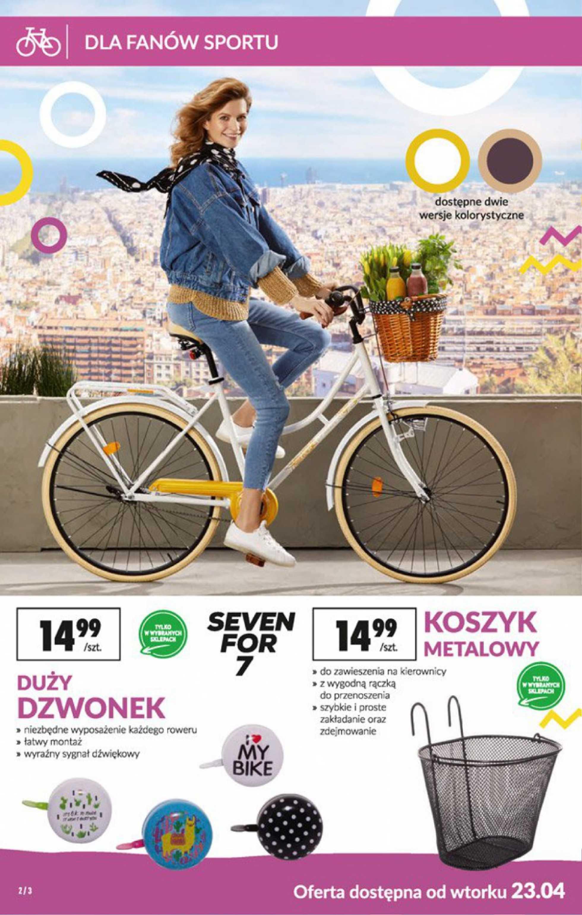 Biedronka - gazetka promocyjna ważna od 23.04.2019 do 08.05.2019 - strona 2.
