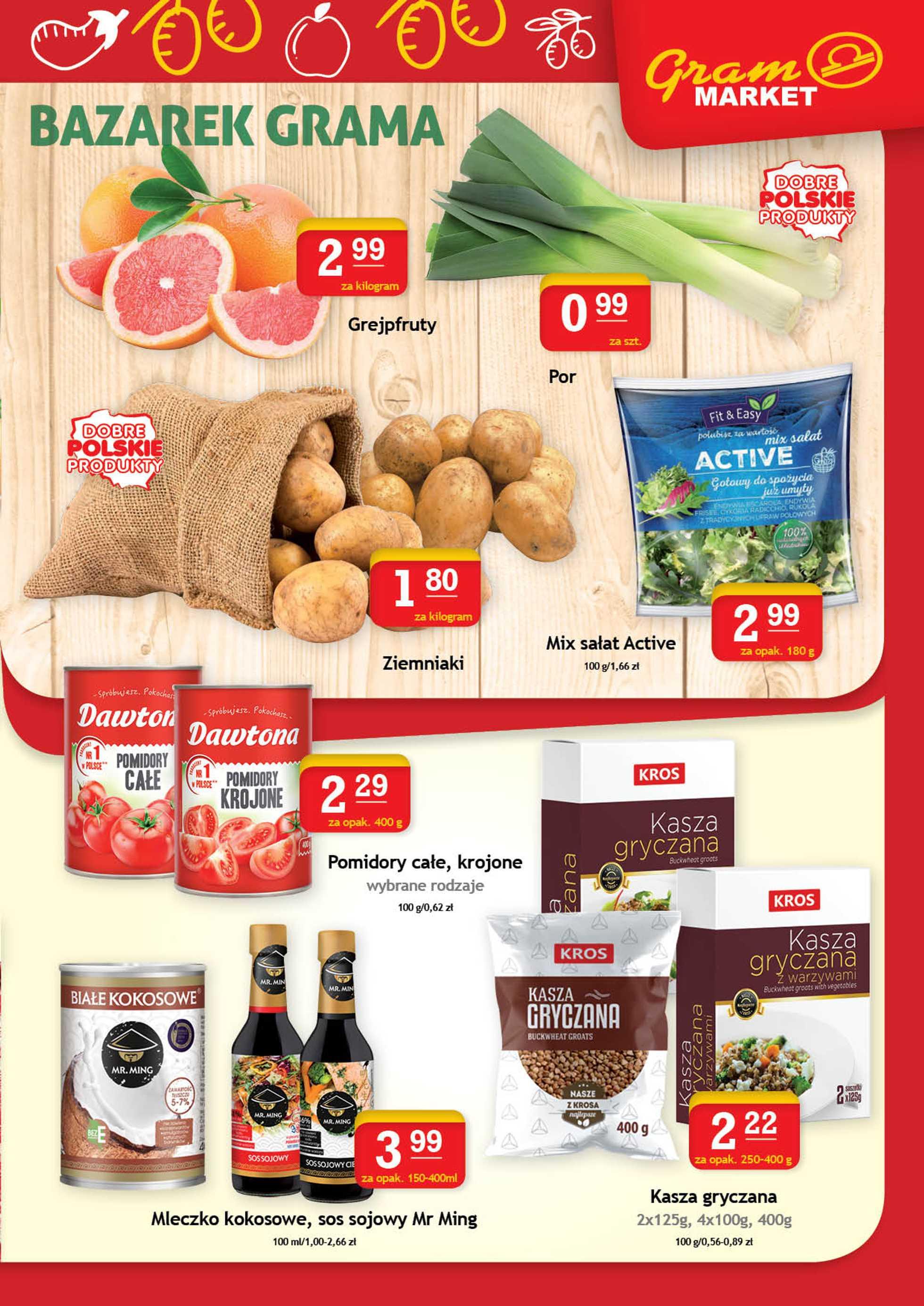 Gram Market - gazetka promocyjna ważna od 22.01.2020 do 28.01.2020 - strona 3.