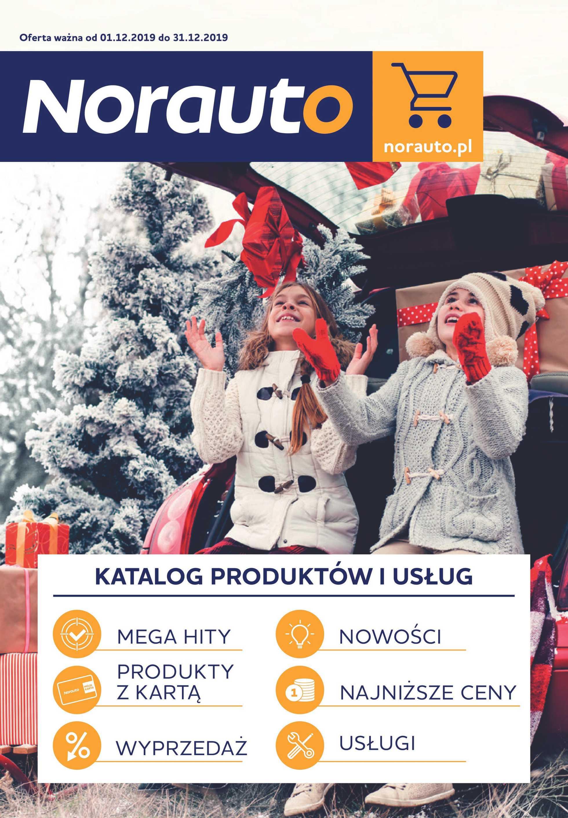 Norauto - gazetka promocyjna ważna od 01.12.2019 do 31.12.2019 - strona 1.
