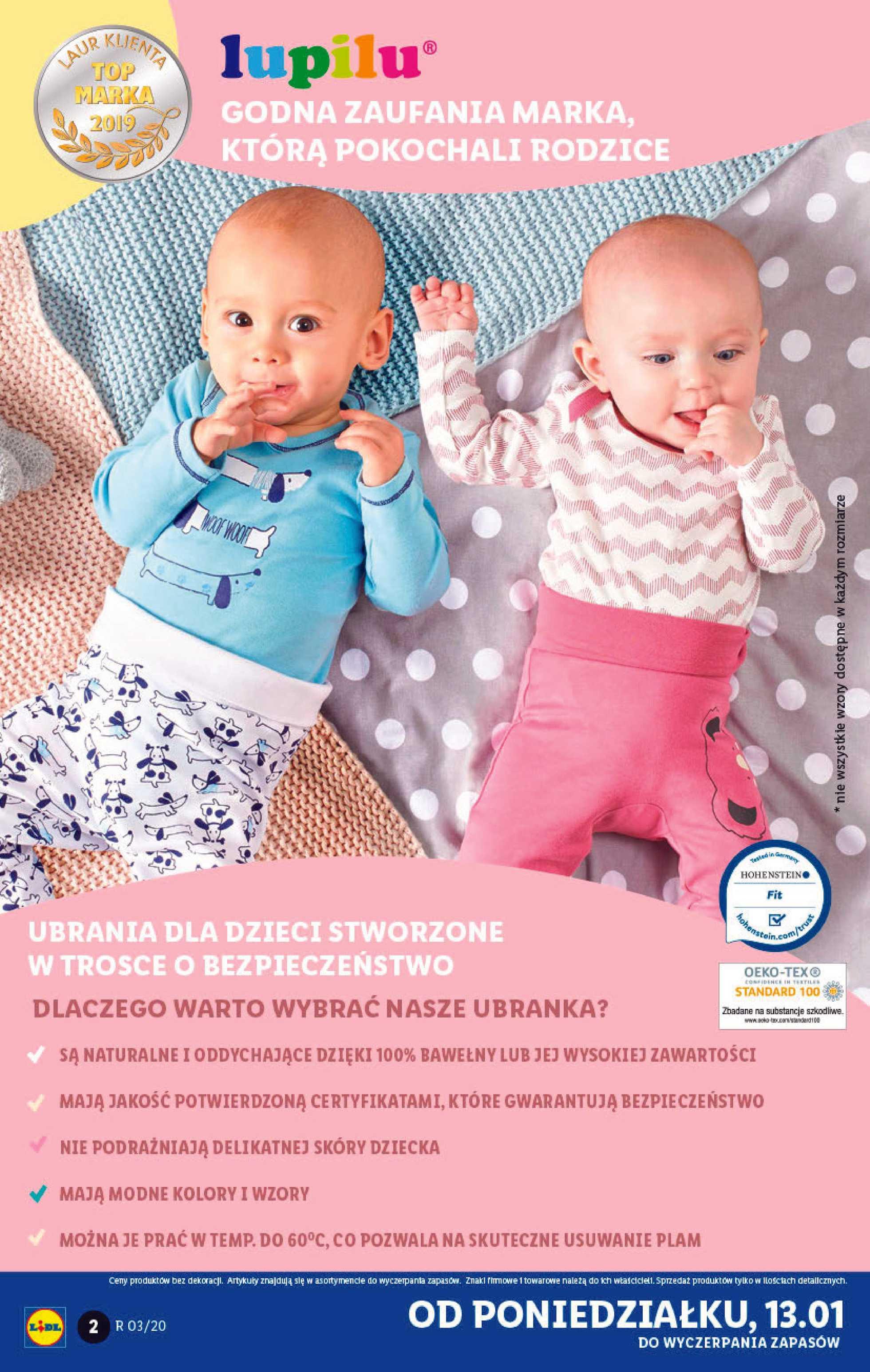 Lidl - gazetka promocyjna ważna od 13.01.2020 do 18.01.2020 - strona 2.