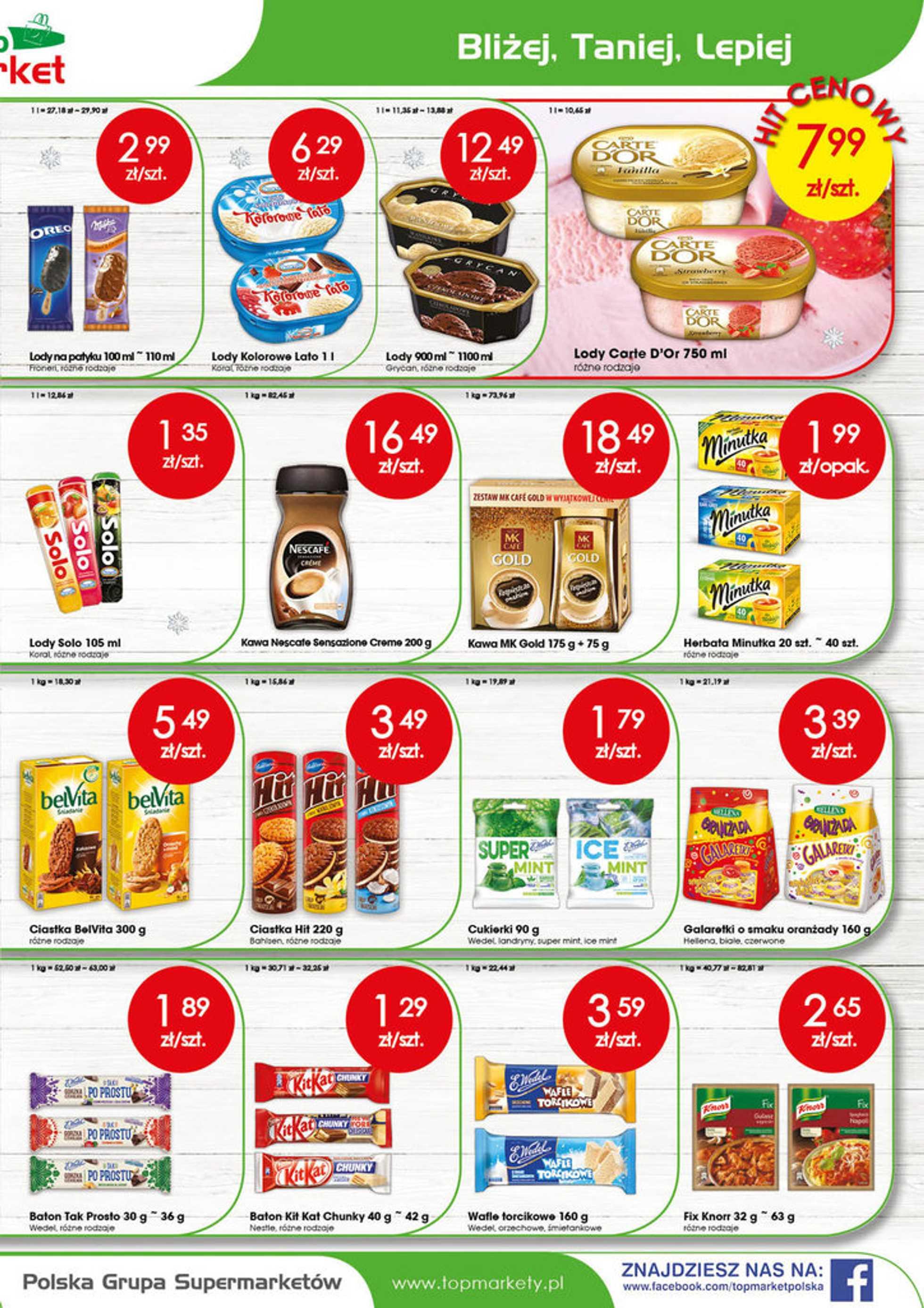 Top Market - gazetka promocyjna ważna od 16.07.2018 do 21.07.2018 - strona 3.