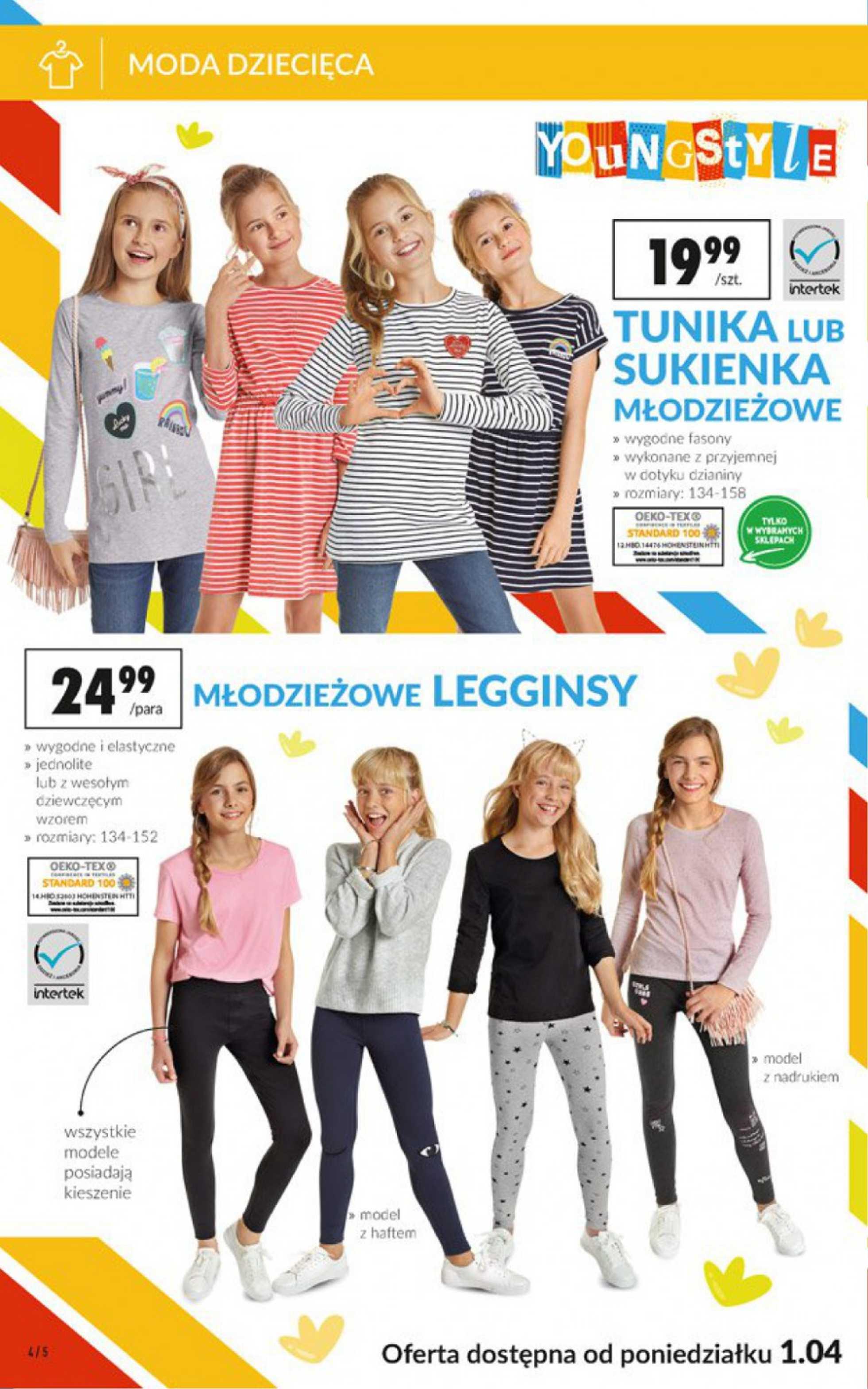 Biedronka - gazetka promocyjna ważna od 01.04.2019 do 17.04.2019 - strona 4.