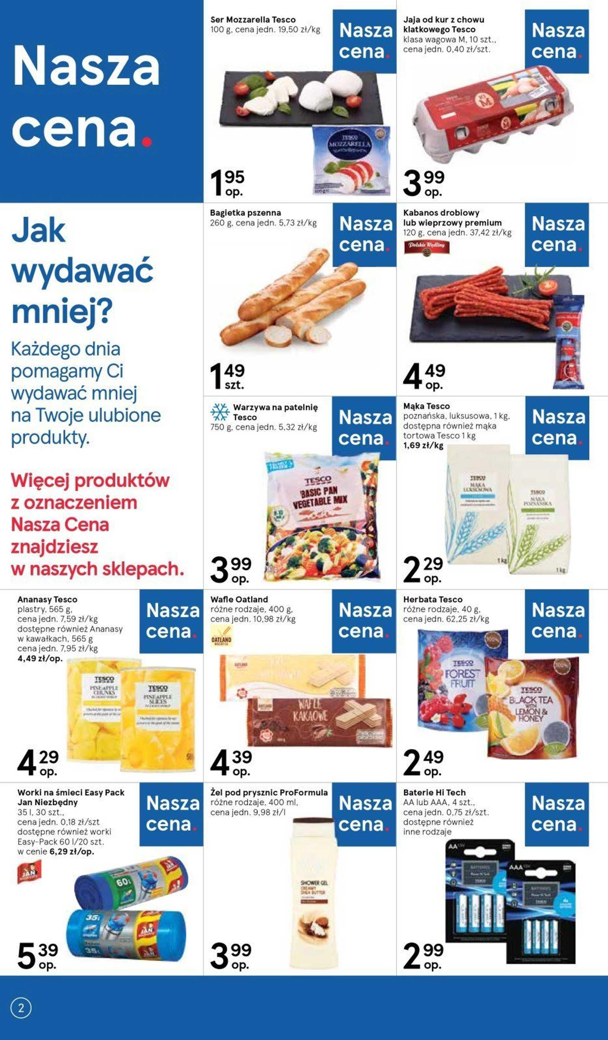 Tesco - gazetka promocyjna ważna od 06.06.2019 do 12.06.2019 - strona 2.
