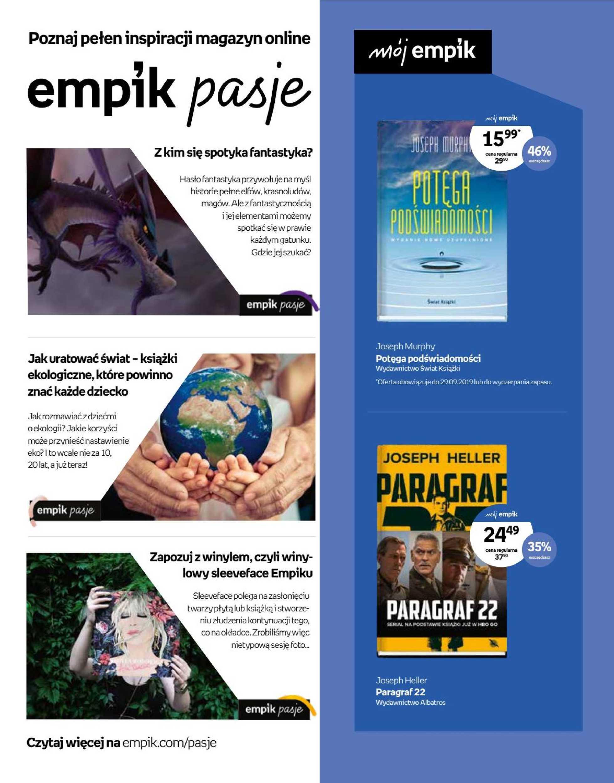 Empik - gazetka promocyjna ważna od 18.09.2019 do 01.10.2019 - strona 2.