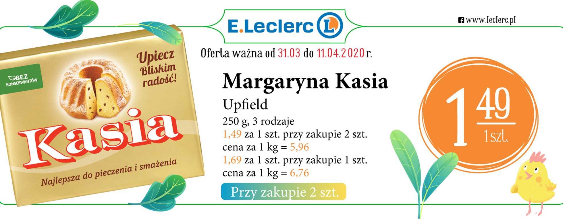 E.Leclerc - gazetka promocyjna ważna od 31.03.2020 do 11.04.2020 - strona 2.