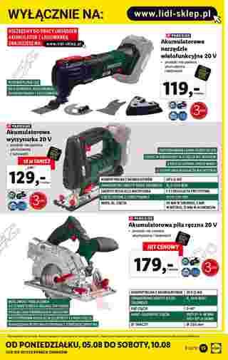Lidl - gazetka promocyjna ważna od 05.08.2019 do 10.08.2019 - strona 15.