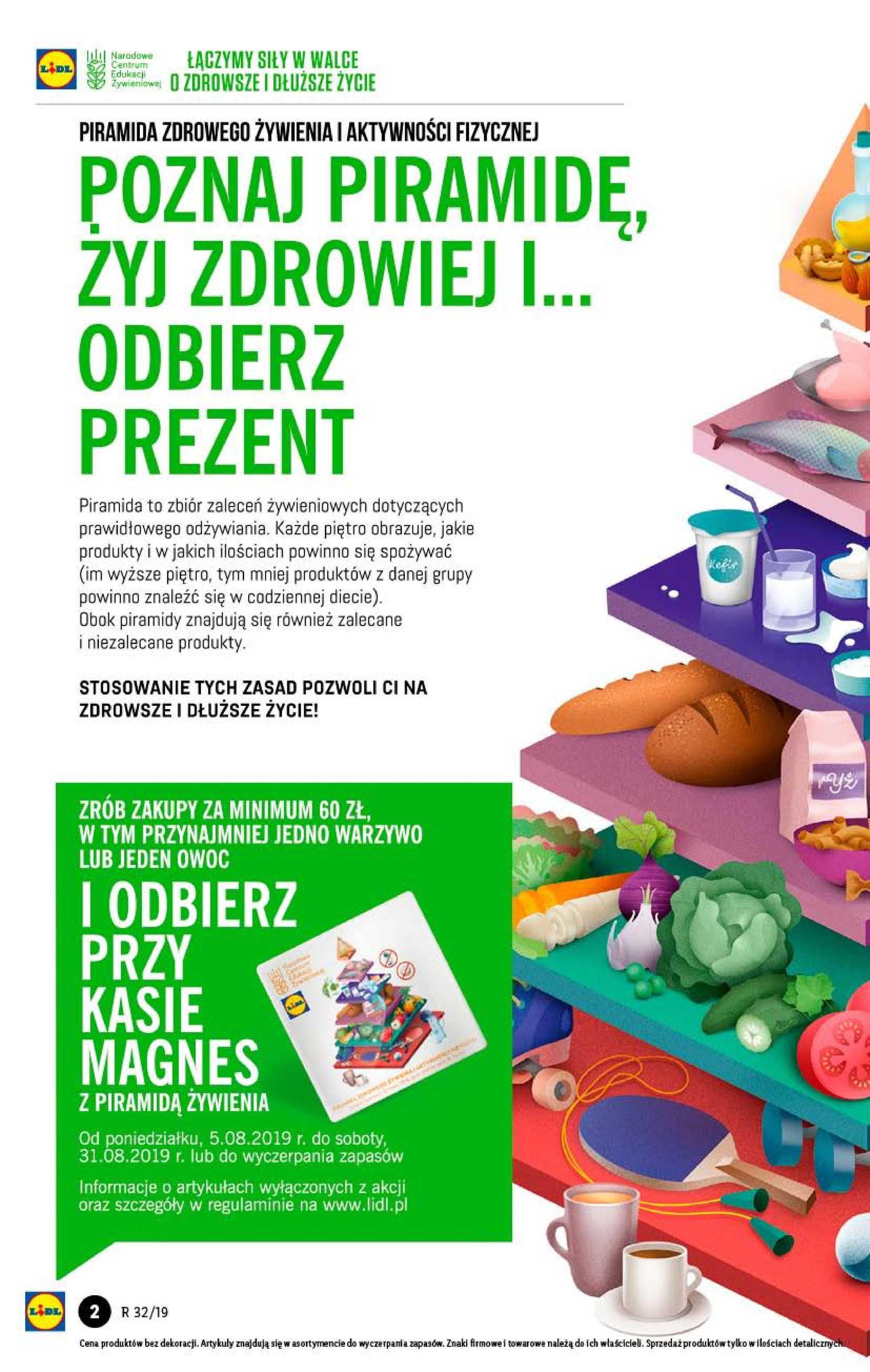 Lidl - gazetka promocyjna ważna od 05.08.2019 do 07.08.2019 - strona 2.