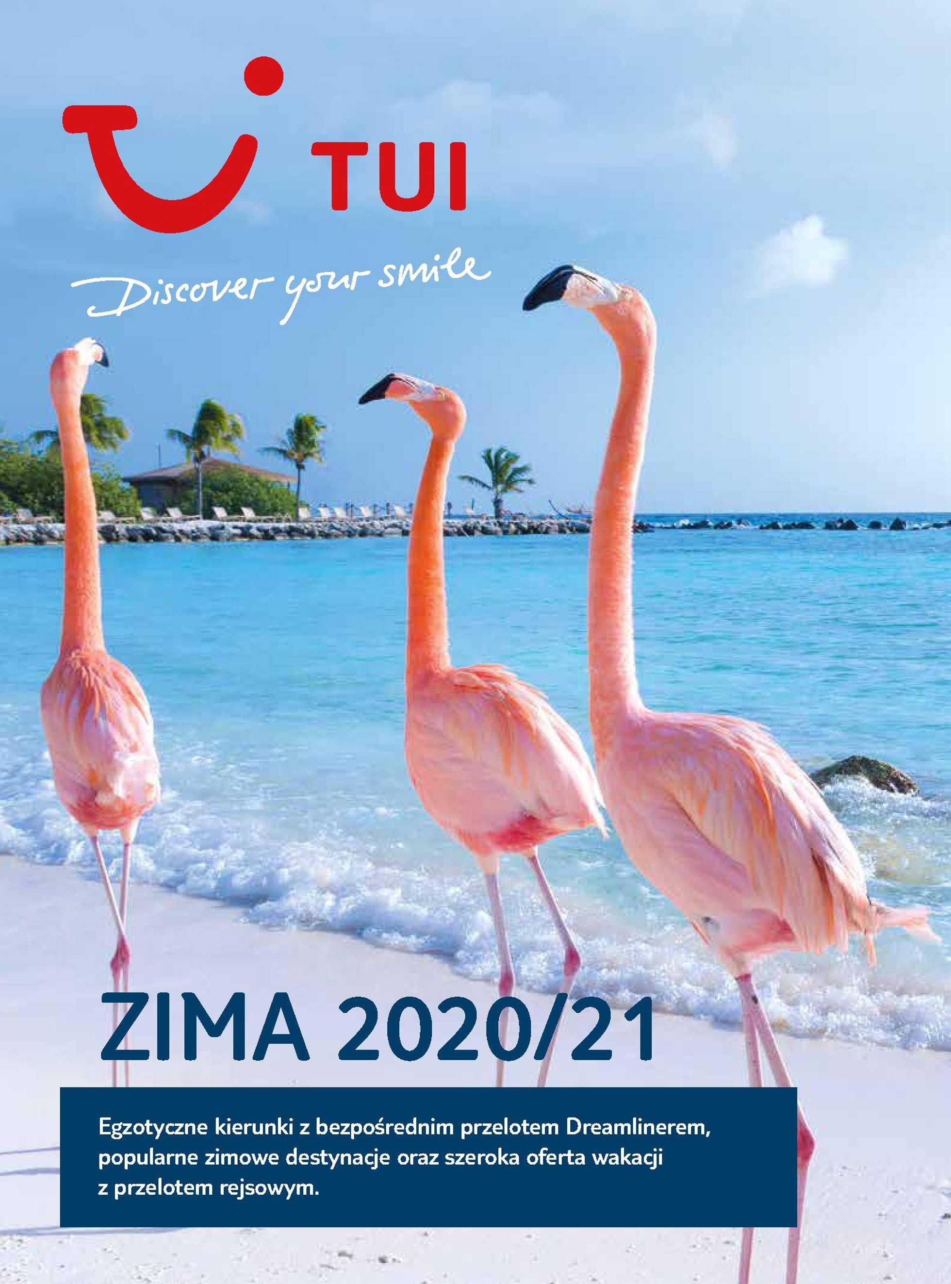Tui - gazetka promocyjna ważna od 21.12.2020 do 20.03.2021 - strona 1.