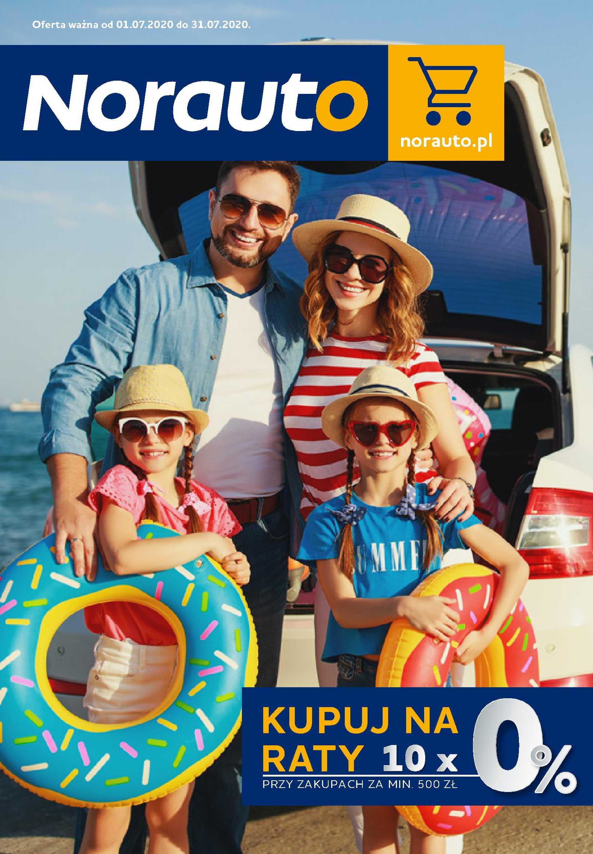 Norauto - gazetka promocyjna ważna od 01.07.2020 do 31.07.2020 - strona 1.