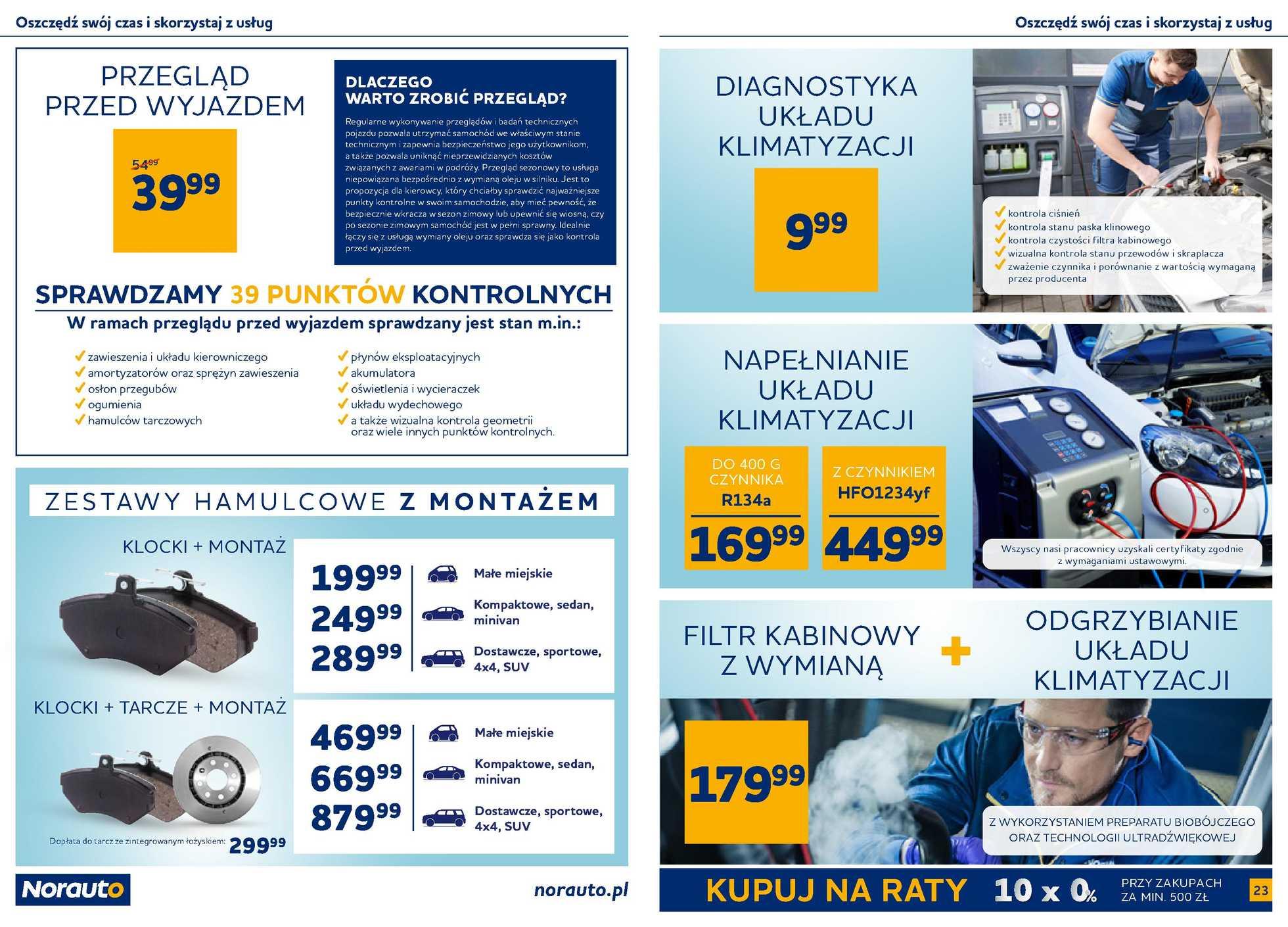 Norauto - gazetka promocyjna ważna od 01.07.2020 do 31.07.2020 - strona 4.