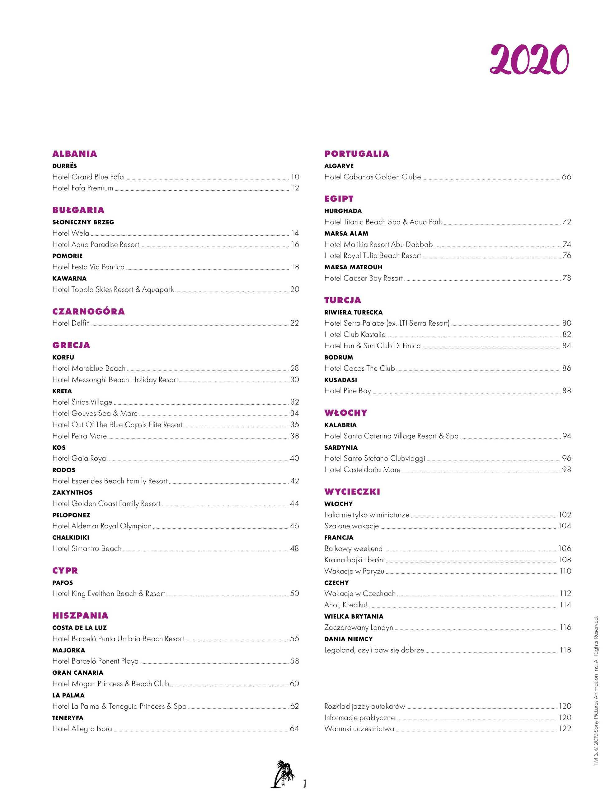 Itaka - gazetka promocyjna ważna od 02.04.2020 do 22.09.2020 - strona 3.